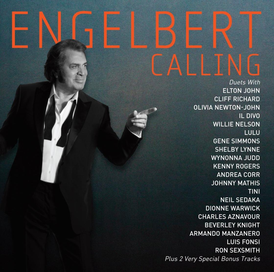 Pictured above is the album cover of 'Engelbert Calling' by Engelbert Humperdinck, released in 2014 on Butler Records