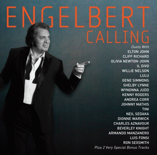Pictured above is the album cover of 'Engelbert Calling' by Engelbert Humperdinck, released in 2014 on Butler Records
