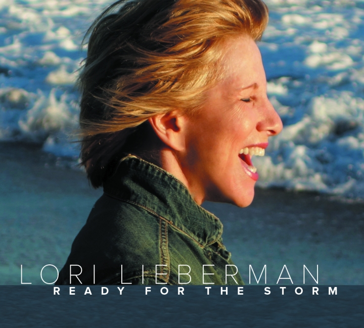 Pictured above is the album cover of 'Ready For The Storm' by Lori Lieberman, released in 2015 on Butler Records
